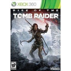 RISE OF THE TOMB RAIDER CRYSTAL DYNAMICS - X360