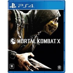 MORTAL KOMBAT X WARNER - PS4