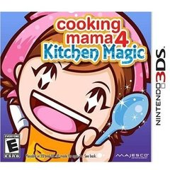 COOKING MAMA 4: KITCHEN MAGIC MAJESCO - NINTENDO 3DS