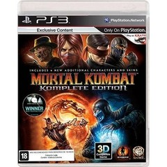 MORTAL KOMBAT KOMPLETE EDITION WARNER - PS3