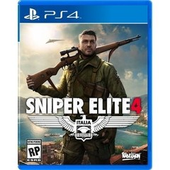 SNIPER ELITE 4 REBELLION - PS4