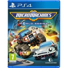 MICRO MACHINES: WORLD SERIES CODEMASTERS - PS4