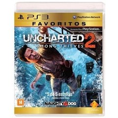 UNCHARTED 2 AMONG THIEVES NAUGHTY DOG - PS3