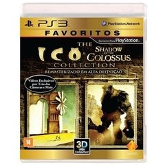 ICO & SHADOW OF THE COLOSSUS COLLECTION SONY - PS3 - comprar online