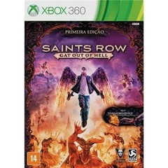 SAINTS ROW GAT OUT OF HELL DEEP SILVER - X360