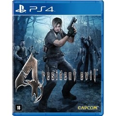 RESIDENT EVIL 4 REMASTERED CAPCOM - PS4