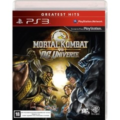 MORTAL KOMBAT VS DC UNIVERSE WARNER - PS3