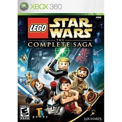 LEGO STAR WARS: THE COMPLETE SAGA LUCASARTS - XBOX 360