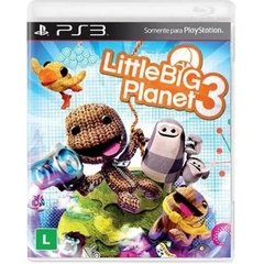 LITTLE BIG PLANET 3 SONY - PS3