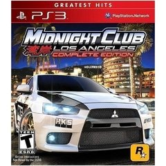 MIDNIGHT CLUB LOS ANGELES COMPLETE EDITION ROCKSTAR - PS3
