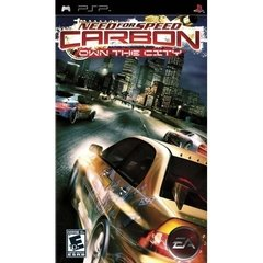NEED FOR SPEED CARBON OWN THE CITY EA - PSP