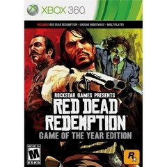 RED DEAD REDEMPTION: GAME OF THE YEAR EDITION ROCKSTAR - XBOX 360