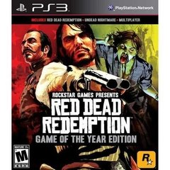 RED DEAD REDEMPTION GOTY ROCKSTAR GAMES - PS3