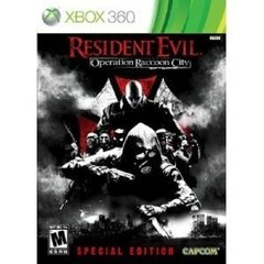 RESIDENT EVIL: OPERATION RACCOON CITY SPECIAL EDITION CAPCOM - XBOX 360