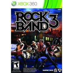 ROCK BAND 3 EA – XBOX 360