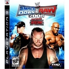 SMACKDOWN VS RAW 2008 THQ - PS3