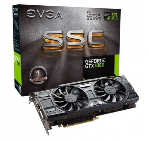EVGA PCIE GTX 1060 3G SSC 3GB DDR5 GAMING