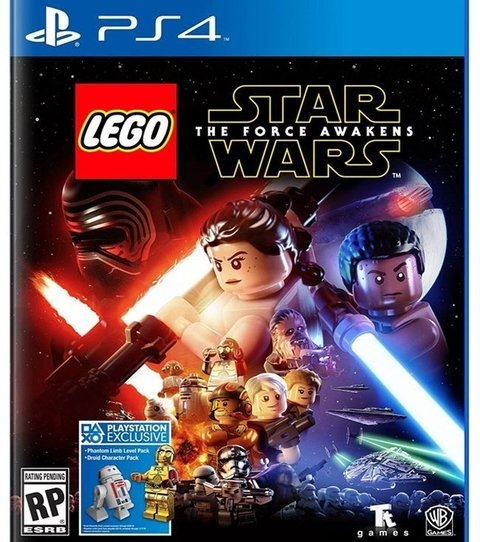 Lego Star wars: The Force Awakens USADO PS4