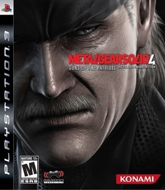 Metal Gear Solid 4: Guns of the Patriots USADO PS3