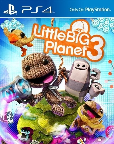 Little Big Planet 3 USADO PS4