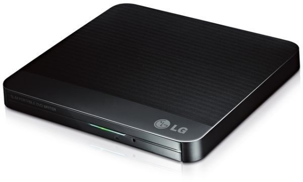 LG Slim Portable DVD Writer Negro