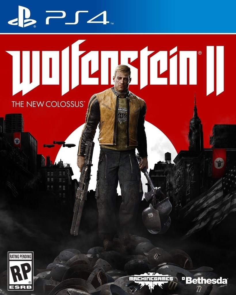 Wolfenstein II: The New Colossus USADO PS4
