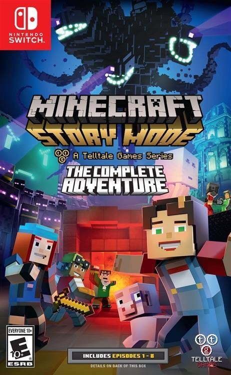 Minecraft: Story Mode - The Complete Adventure Nintendo Switch
