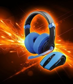 Combo DragonWar Headset + Mouse