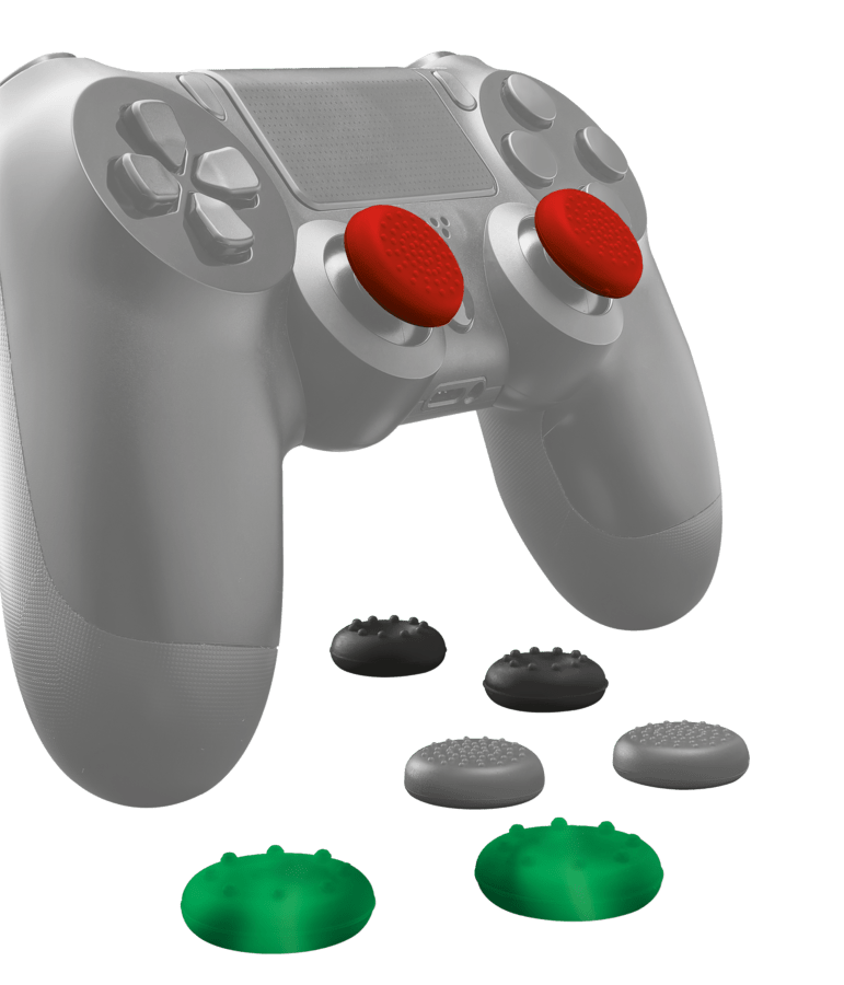 Thumb Grips 8-Pack para controles de Playstation 4 Trust