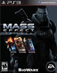 Mass Effect Trilogy USADO PS3