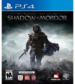 Middle Earth Shadow of Mordor USADO PS4