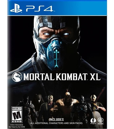 Mortal Kombat XL USADO PS4