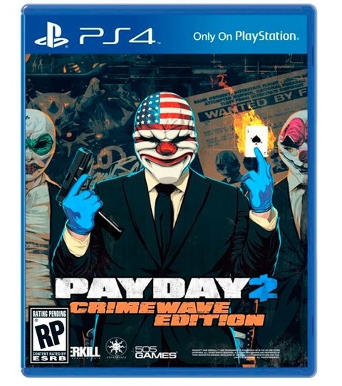 PayDay 2 The Big Score USADO PS4