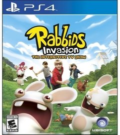 Rabbids Invasion PS4 USADO