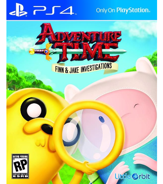 Adventure Time Finn & Jake Investigations PS4