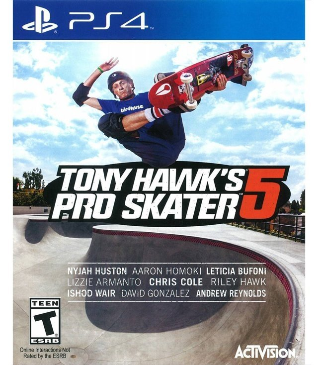 Tony Hawk Pro Skater 5 USADO PS4