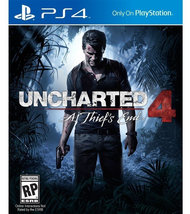 Uncharted 4 Thief 's end USADO PS4