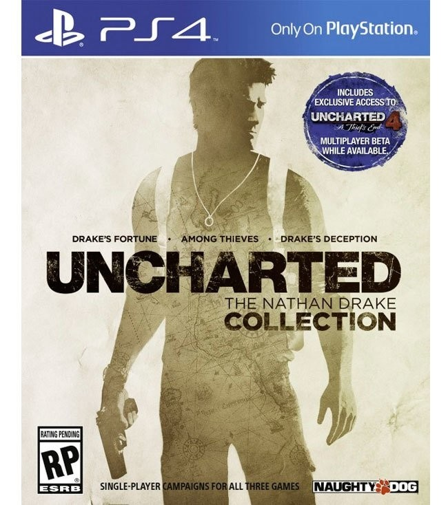 Uncharted The Nathan Drake Collection USADO PS4