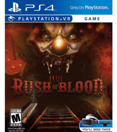 Until Dawn Rush Of Blood VR USADO PS4