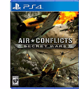 Air Conflicts Secret Wars PS4