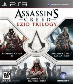 Assassin´s Creed: Ezio Trilogy USADO PS3