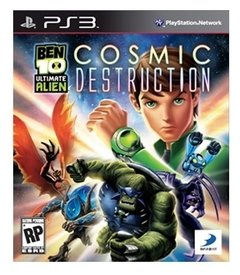 Ben 10: Ultimate Alien Cosmic Destruction USADO PS3