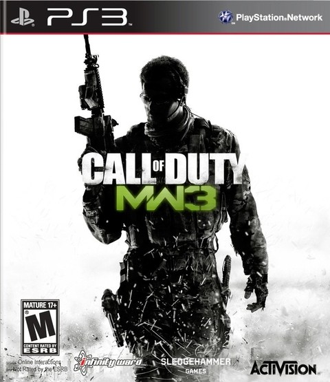 Call of Duty: Modern Warfare 3 USADO PS3