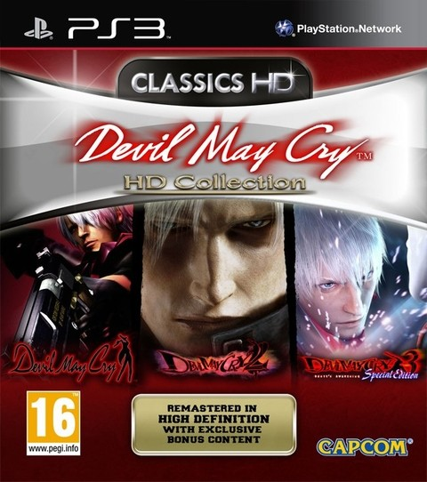 Devil May Cry HD Collection USADO PS3