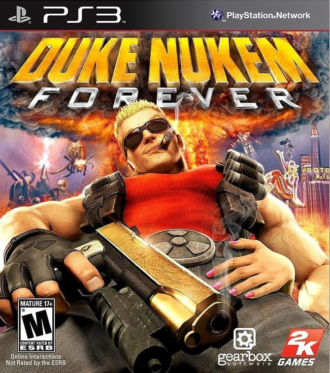 Duke Nukem Forever USADO PS3