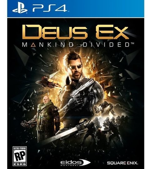 Deus Ex: Mankind Divided USADO PS4