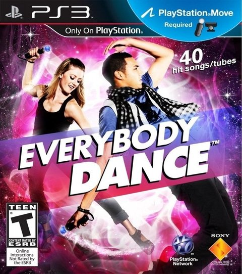 Everybody Dance USADO PS3