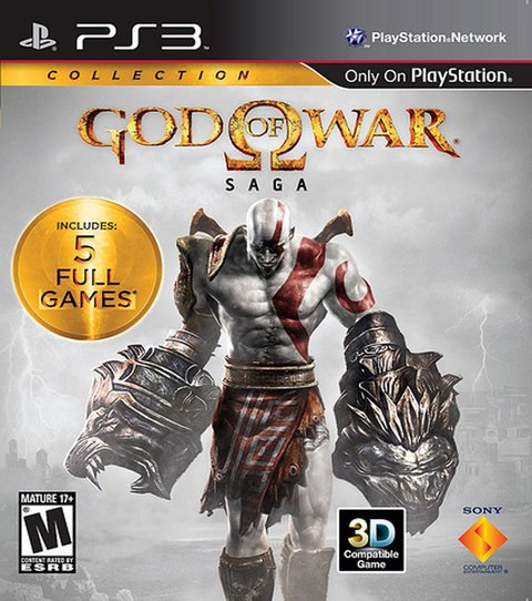 God Of War: Saga Collection PS3