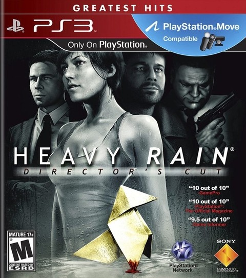 Heavy Rain Director´s Cut USADO PS3