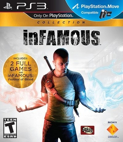 Infamous Collection USADO PS3